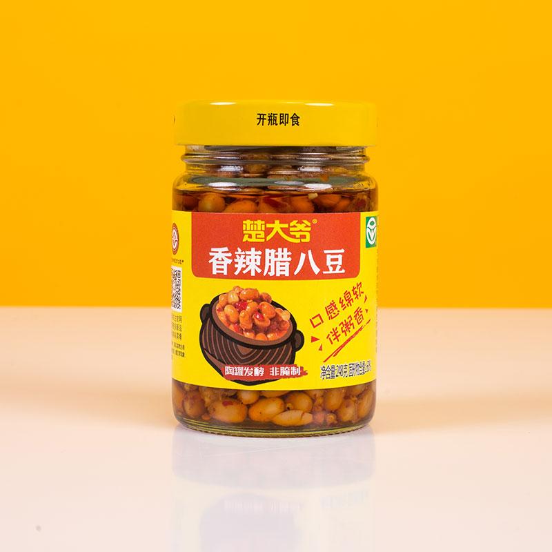 香辣腊八豆 248g