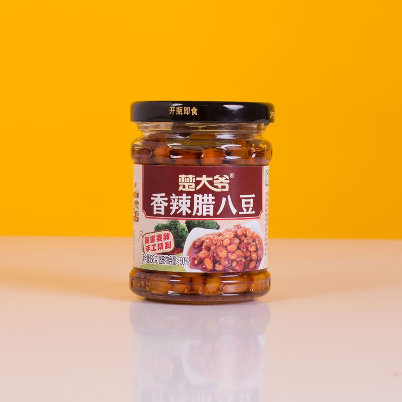 河北香辣腊八豆 168g
